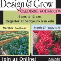 "Design & Grow Gardening Workshop - ""Beauty for All"""
