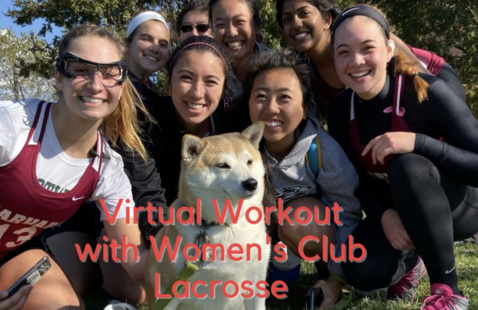 Harvard Women's Lacrosse Club group picture