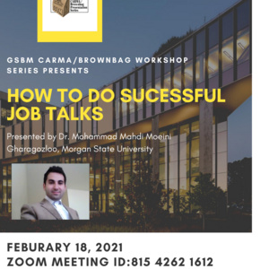 How to Do Successful Job Talks