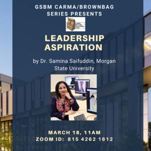 Leadership Aspirations