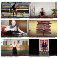 3 Minutes Moving: Moving Our Bodies/Moving Online