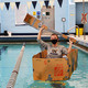 Cardboard Boat Race at Tootell Aquatic Center