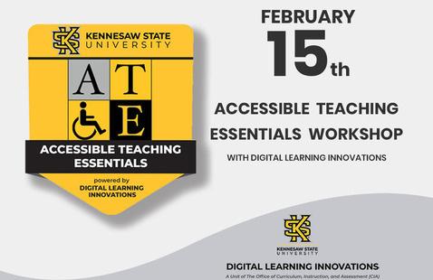 Accessible Teaching Essentials Workshop