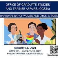 OGSTA Presents International Day of Women and Girls in Science