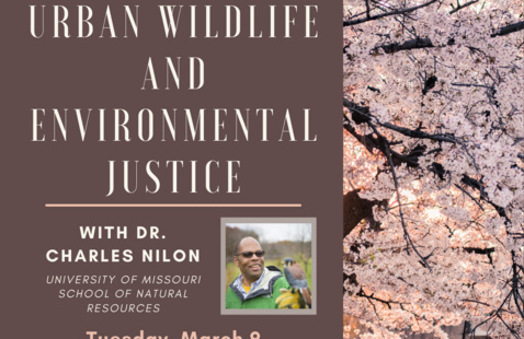 Spring Lecture Series: Urban Wildlife and Environmental Justice