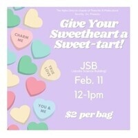 Give Your Sweetheart a Sweet-Tart