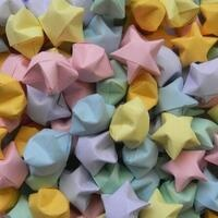 Get Crafty Together: Origami Lucky Stars