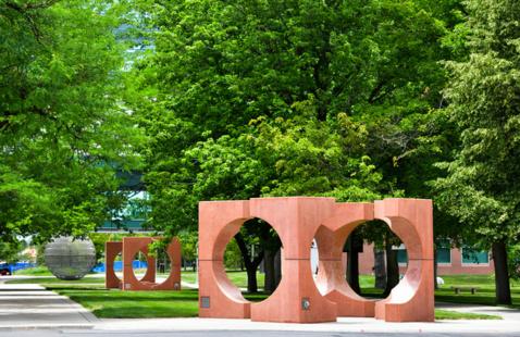 CU Anschutz campus sculpture