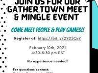 Gather.Town Meet & Mingle Event