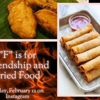 """""""F"""" is for Friendship and Fried Food"""