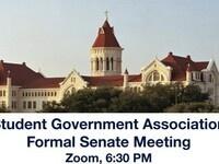 SGA Formal Senate Meeting (Spring 2021)