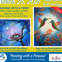 Painting for a Purpose Charity Fundraiser #PWAT_SCV