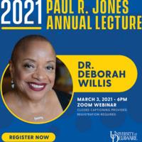 Paul R. Jones Annual Lecture