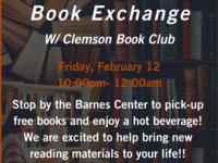 U-NITES! Book Exchange with Clemson Book Club
