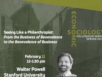 Economic Sociology Colloquium Series Poster