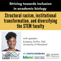 Structural racism, institutional transformation, and diversifying the STEM faculty