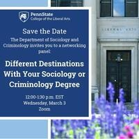 Different Destinations With Your Sociology or Criminology Degree