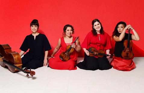 Aizuri Quartet Photo