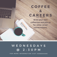 Coffee & Careers - Wednesdays at 2:30pm