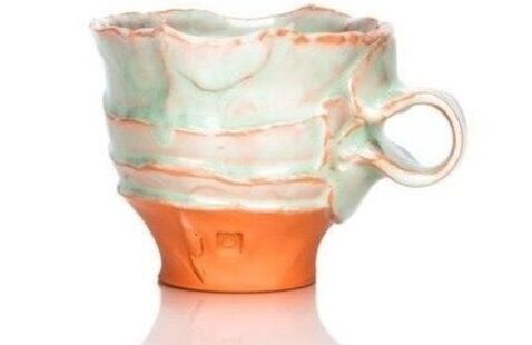 glazed cup