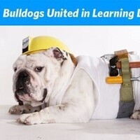 BUILD logo-Bulldog in hardhat