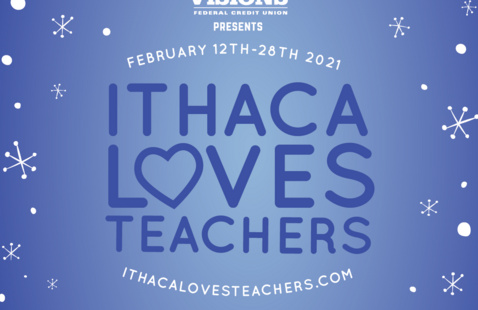 Ithaca Loves Teachers Virtual Opening Reception