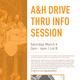 A&H Drive Thru Info Session