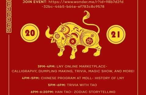 Lunar New Year Online Celebration