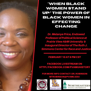 """""""When Black Women Stand Up:"""" The Power of Black Women in Effecting Change"""