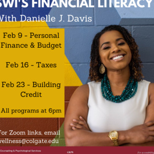SWI's Financial Literacy with Danielle J. Davis