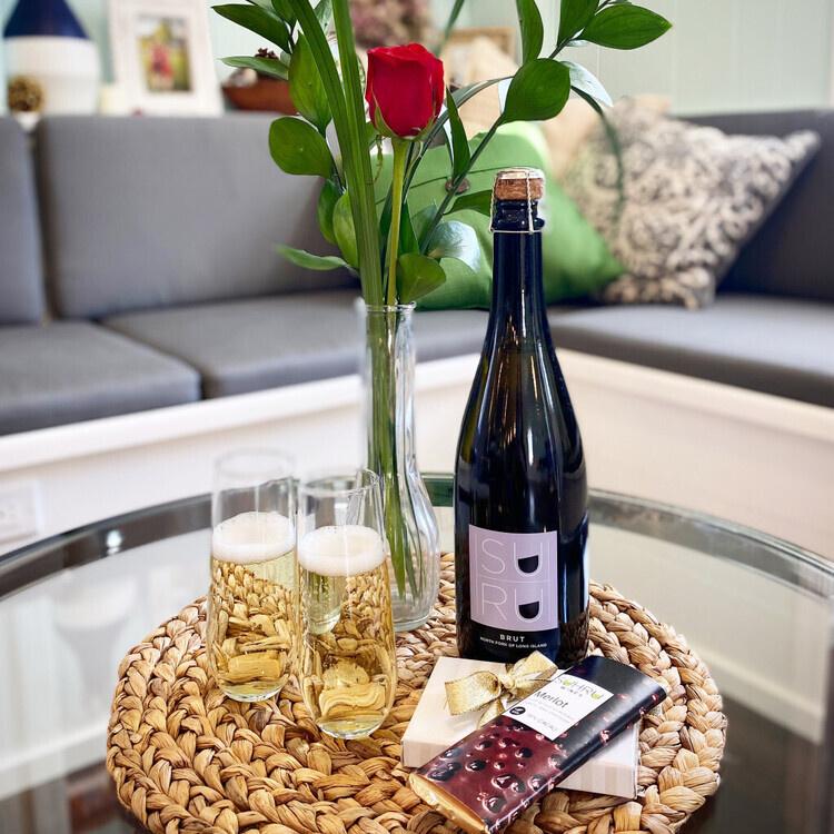 Valentine's Day Wine, Cheese & Chocolate Virtual Tasting