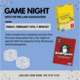 Game Night with MHC Pre-Law Association