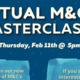 Community M&Cs: Master Class