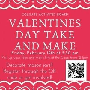 CAB Valentine's Craft Take & Make