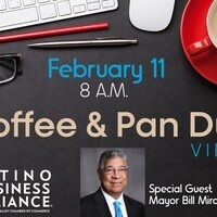 SCV Chamber: Coffee & Pan Dulce with Mayor Bill Miranda