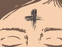 Ash Wednesday Imposition of Ashes