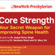 Spine Time - Core Strength: Your Secret Weapon for Improving Spine Health