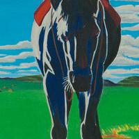 G. Peter Jemison, Riderless Horse, 1978