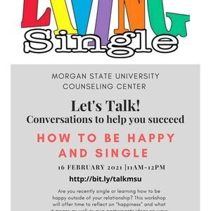 Let's Talk! How to be Happy and Single