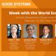 Panel info with panelist headshots