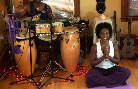 Wellness Day: Afro Flow Yoga