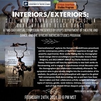 Interiors/Exteriors: Self-making and Social Justice in Contemporary Black Dance