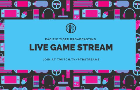 PTB Presents: Video Game Stream w/ Andrew