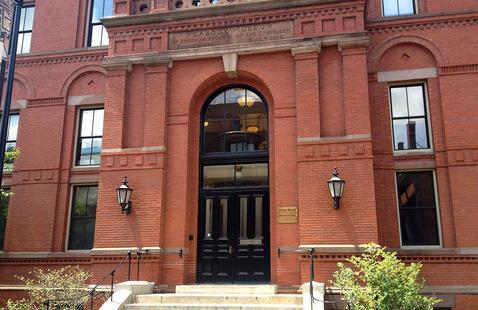 Exterior Peabody museum