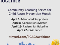 Community Learning Series for Child Abuse Prevention Month