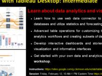Data Analytics with Tableau Desktop: Intermediate
