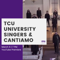 Ensemble Concert Series: TCU University Singers and Cantiamo