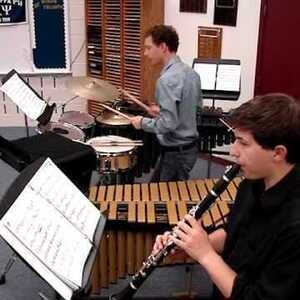 Student Recital: Trey Washington, percussion & Jacob Wolfe, clarinet