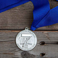 Nevada Writers Hall of Fame silver medal