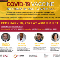 COVID-19 Vaccine Informational Town Hall